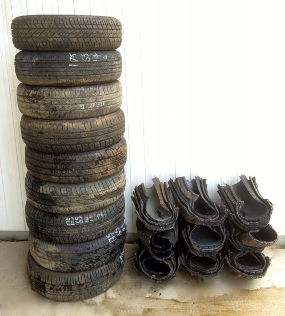 Cut Tyres